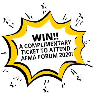 AFMA Forum 2020 registration now open | Win a complimentary ticket to attend AFMA Forum 2020!